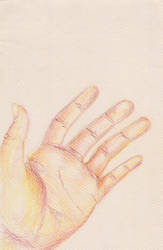 hand by PegasusHoshizora