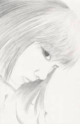 Line drawing self portrait 2 by PegasusHoshizora