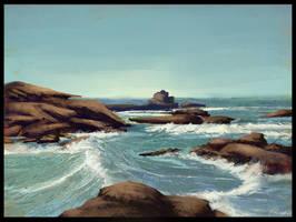 Ocean Landscape by arsuew