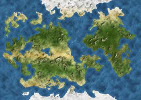 Fantasy Mundi Map by Demetrio