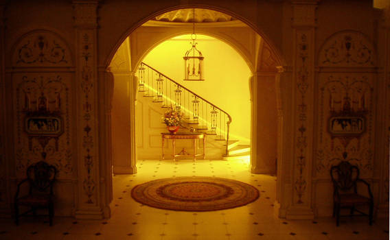 Interior of an Old House v by NKG--stockpile