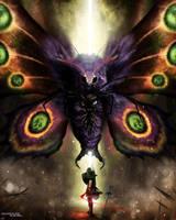 The Legend of Zelda: Boss Fight - Mothula by BradyGoldsmith