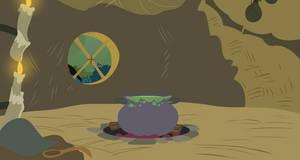 Background: Zecora's Hut by EStories