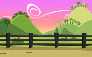 Background: Sweet Apple Acres by EStories