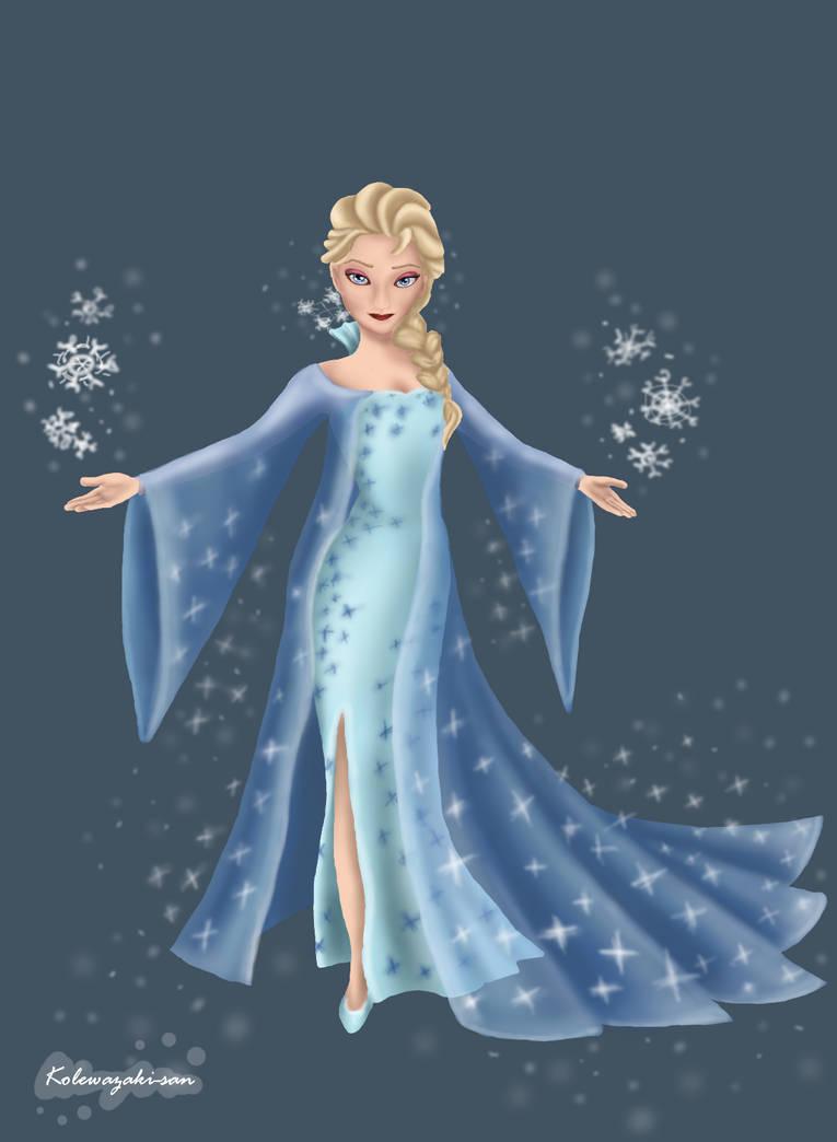 Queen Elsa by NeKoLawRencE