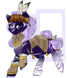 Native Pony || Auction [CLOSED] || PP/Points by pearlymoon