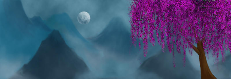 Weeping Cherry Tree by KalisCoraven