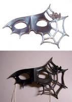 Spider Masquerade Mask by KalisCoraven
