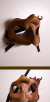 Maple Leaf Mask by KalisCoraven