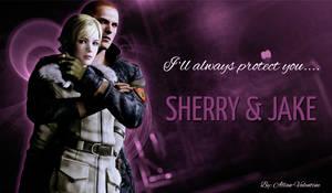 Jake x Sherry by Allan-Valentine