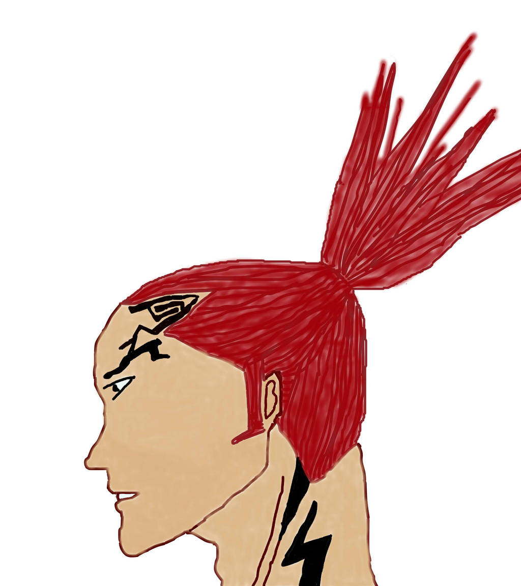 Renji in colour by TheAnimatedSky