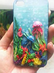 Under the sea.. iphone case by DarkPartOfCarrot