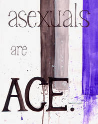 Asexuals are Ace by Iararawr
