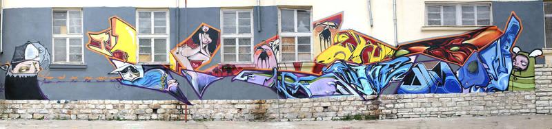 Board VS Aerosol Jam by Arnou