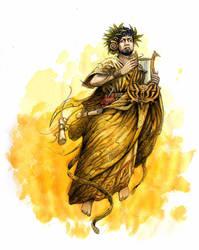 Lashtara god of music by JohnMcCambridge
