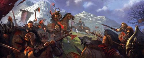 Game of Thrones Battle Of Seven Stars by JohnMcCambridge