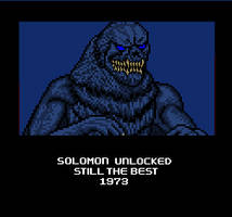 If Solomon were in Godzilla: Replay by Thunderstudent