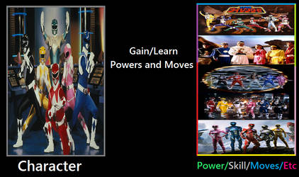 What If S1 Rangers Gained Power Upgraded? by Thunderstudent