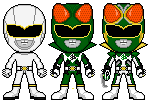 Emerald Mantis Ranger MMPR/PRJF Concept by Thunderstudent