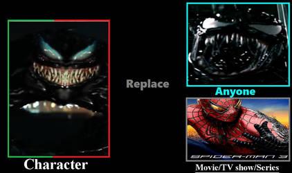 What If 2018 Venom Replaced Spider-man 3 Venom? by Thunderstudent