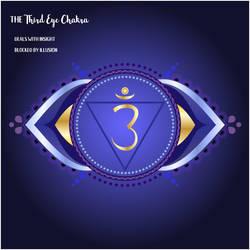 Inktober/Artober - Day 24: Third Eye Chakra by HazelRose3637