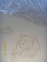 Baka on the beach by Boldblade