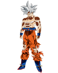 Mastered Ultra Instinct Goku by ruga-rell