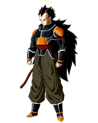 Raditz Redeemed by ruga-rell