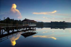 Merimbun - Sunset Tranquility by CIBS