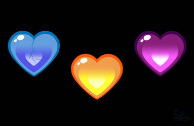 Triple Lewis Heart by Sigma-the-Enigma