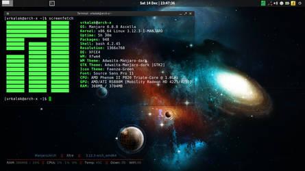 Manjaro/Linux (Arch) - 2013-12 by vrkalak
