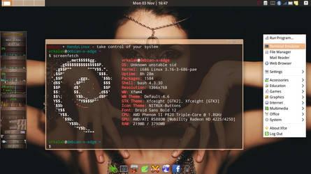 Handy-Linux + Debian/GNU - Sid by vrkalak