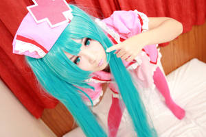 Love ward Miku cosplay 02 by w2200354