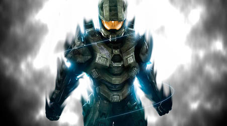 Master chief rise by Maxter190