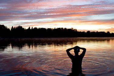 Sunset by Karoliinaa