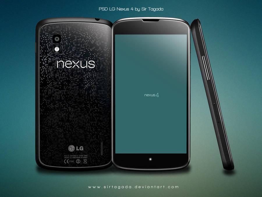 LG Nexus 4 - PSD - Update2 20/11/12 by sirtagada