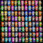 Mega Men V2 by Bongwater-bandit
