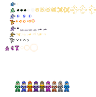 Powered Up weapons 8 bit by Bongwater-bandit