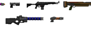 PC Guns by Bongwater-bandit