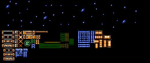 Mega Man V: Jupiter Tileset by Bongwater-bandit
