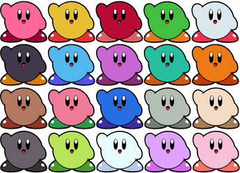 Kirby Spray Paint Wallpaper by Bongwater-bandit