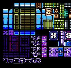 Mega Man V Color Venus Tileset by Bongwater-bandit