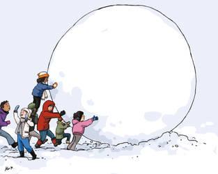 684-The Giant Snowball by Alia-Moosvi