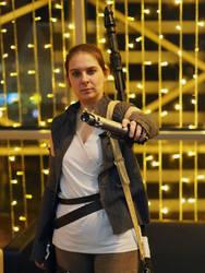 Rey (Star Wars Episode VII) - Will you take that? by bossi-nassatko