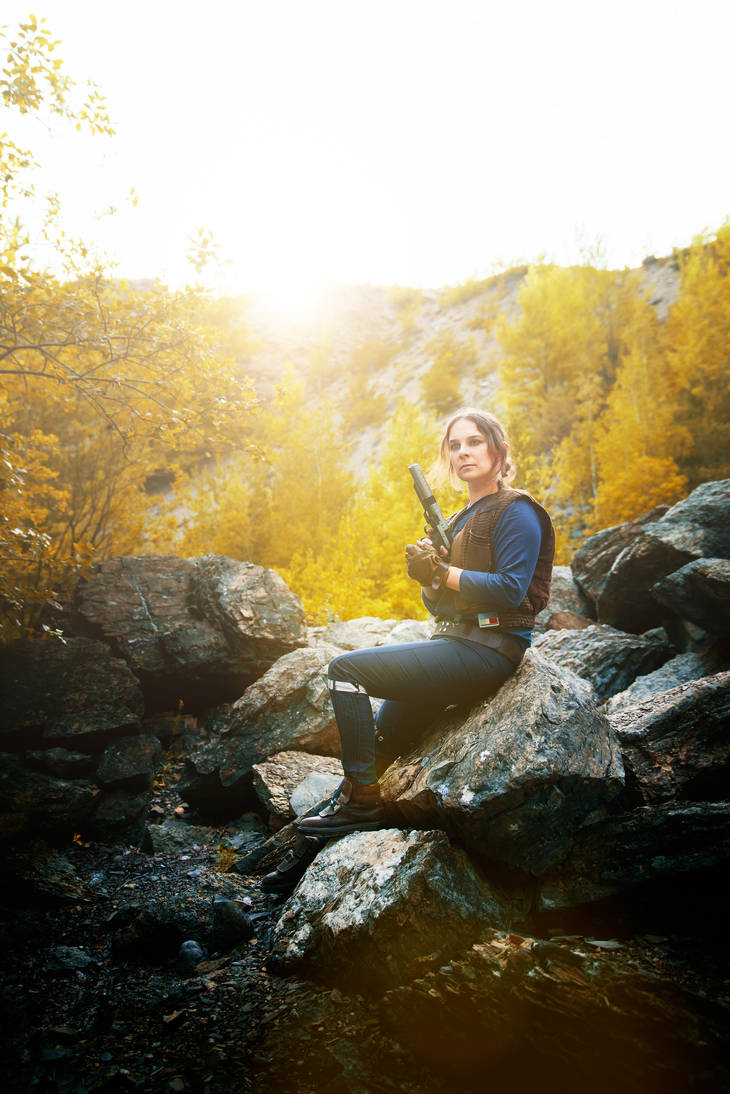 Jyn Erso - The Last Sunset? by bossi-nassatko