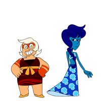 Jasper and Lapis by superdes513