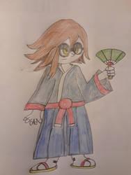 Timeskip: Okimoto by superdes513