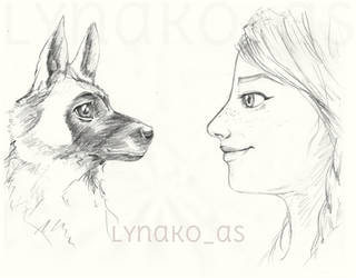 Kanna et Kaia by Lynako