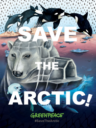 Greenpeace - Save the Arctic by Lynako