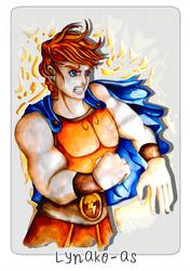 Hercules - Disney Challenge by Lynako